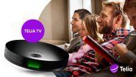 Telia har netop lanceret en ny tv-boks, der samler tv og streaming. Du kan beholde din nuværende internetforbindelse.