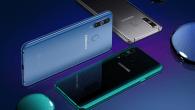 Det nye Infinity-O display får præmiere på Samsung Galaxy A8s.
