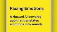 """Huawei står bag en ny app, der bygger på kunstig intelligens og skal hjælpe blinde med at """"se"""" og afkode ansigtsudtrykket på personer de taler med."""