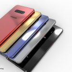 Konceptdesign af Samsung Galaxy S10 og Galaxy S10+