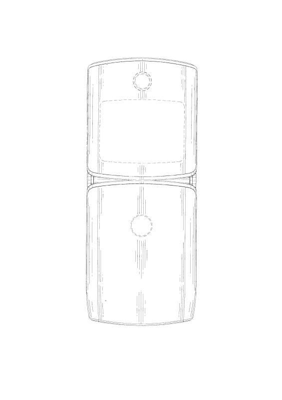 Motorola Razr patentansøgning