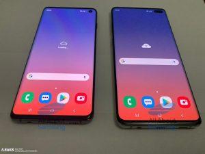 Samsung Galaxy S10 og Galaxy S10+ lækket af All About Samsung (Foto: Slashleaks)