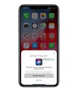 Billede i iOS 12.2 betaversion, som afslører vi formentlig snart får AirPods 2 (Kilde: GSMArena.com)