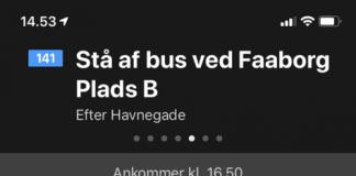 Apple Maps - offentlig transport (Foto: MereMobil.dk)