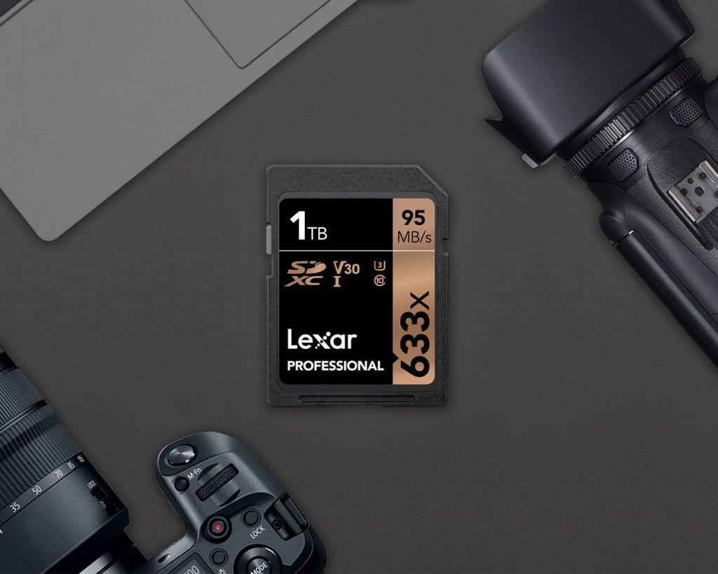 Lexar 1-terabyte SD-kort