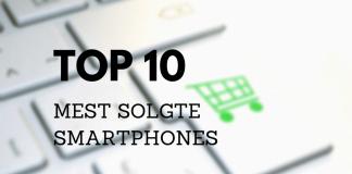 Mest solgte smartphones