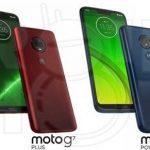 Motorola G7-serien lækket (Kilde: DroidShout)