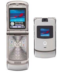 Motorola Razr V3, 2004
