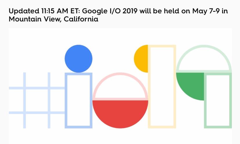 Google I/O 2019 (Foto: Google)