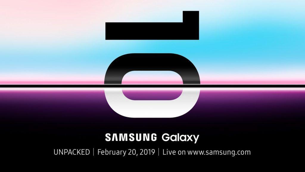 Unpacked Samsung Galaxy S10 San Fransisco