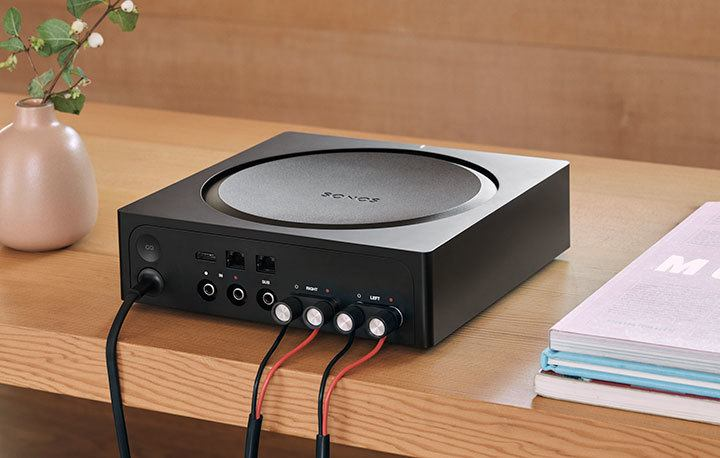 Sonos amp-connections
