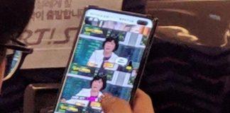 Lækket foto af Samsung Galaxy S10+