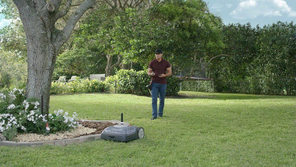 Plæneklipperen Terra iRobot