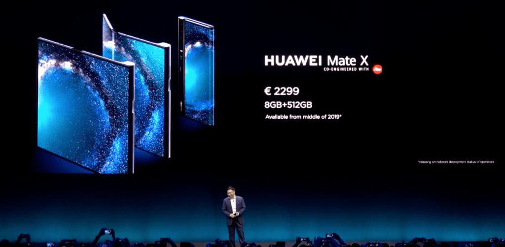 Huawei Mate X Richard Yu