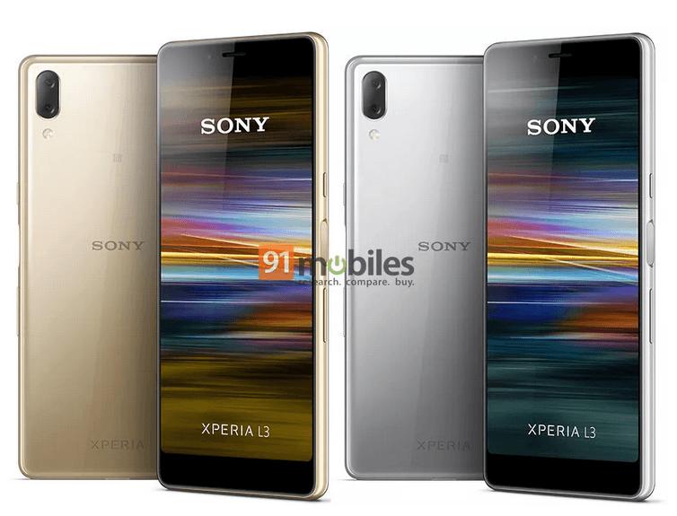 Sony Xperia L3 lækket af 91mobiles.com (Kilde: The Verge)