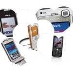 Retro mobiltelefoner