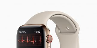 EKG på Apple Watch