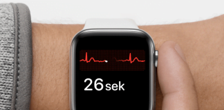 EKG på Apple Watch Series 4