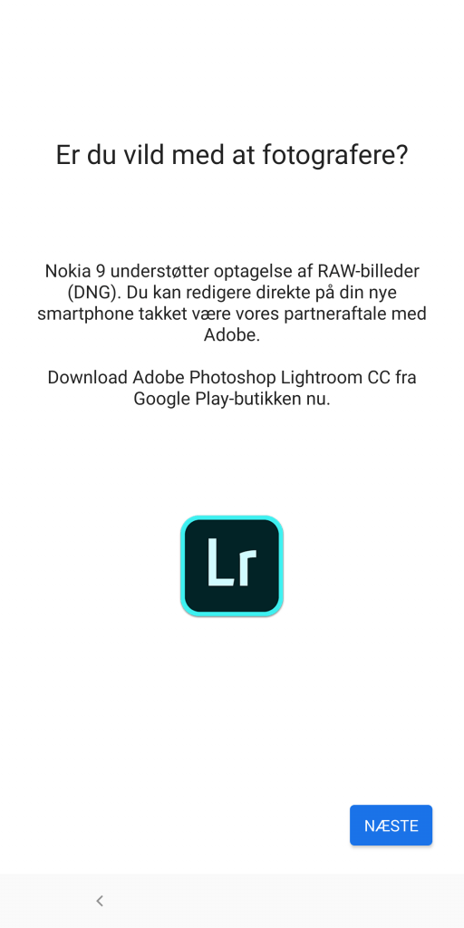 Nokia 9 PureView, skærmbillede