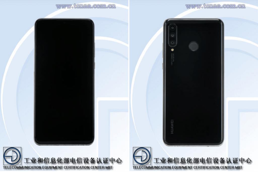 Huawei P30 Lite afsløret på billeder af TENAA (Kilde: AndroidAuthority.com)
