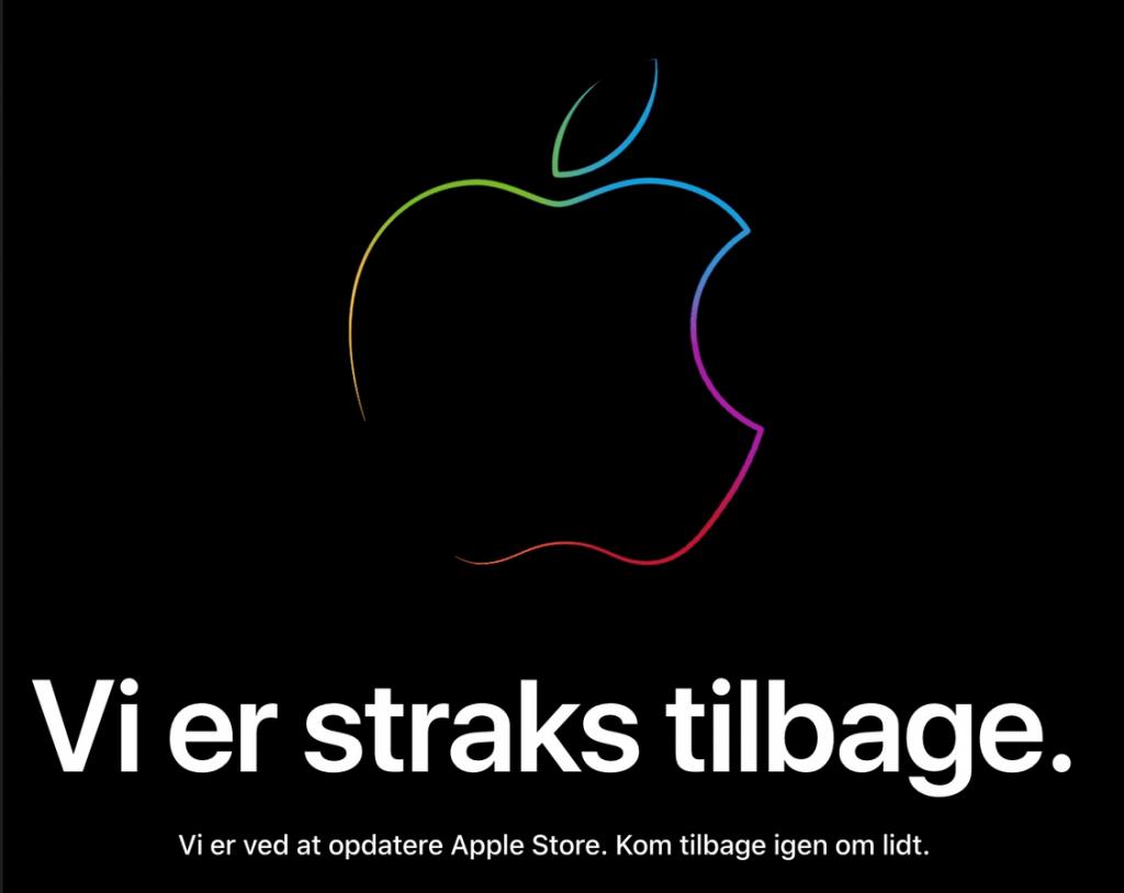 Apples online store er nede... Nye produkter på vej? (Foto: MereMobil.dk)