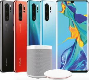 Sonos One og trådløs oplader ser ud til, at medfølge Huawei P30 Pro, hvis den forudbestilles (Kilde: GSMArena.com)