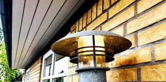 Udendørslampe med Hue White pære