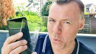 VIDEO: Direkte mod jorden. BANG! Blev det enden for skærmen på min Huawei P30 Pro. Se videoen her.