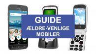 KØBSGUIDE: Her er tre mobiltelefoner med god lyd og let betjening, målrettet mod de ældre mobilbrugere.