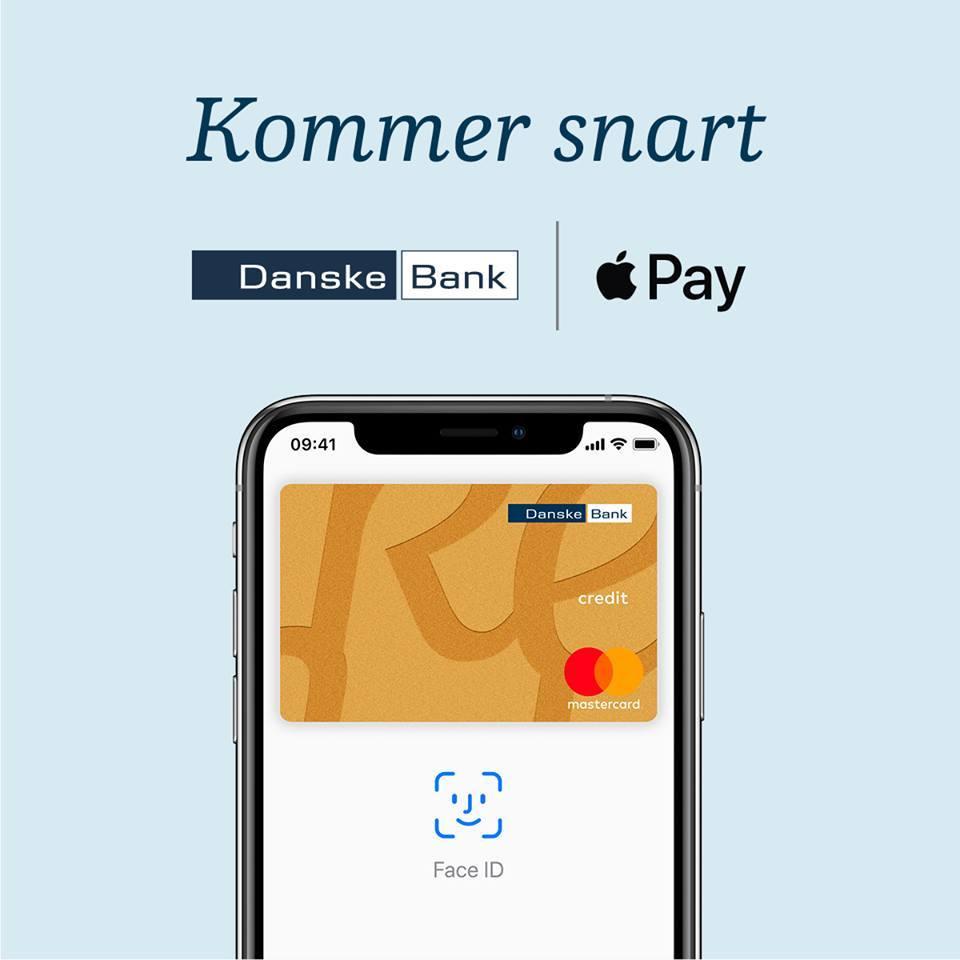 Danske Bank åbner op for Apple Pay (Foto: Danske Bank Facebook)