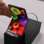 Foldbar klaptelefon