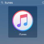 iTunes logo Mac