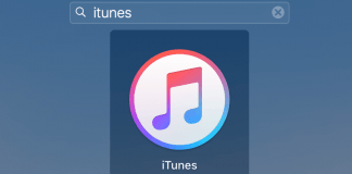 iTunes logo Mac