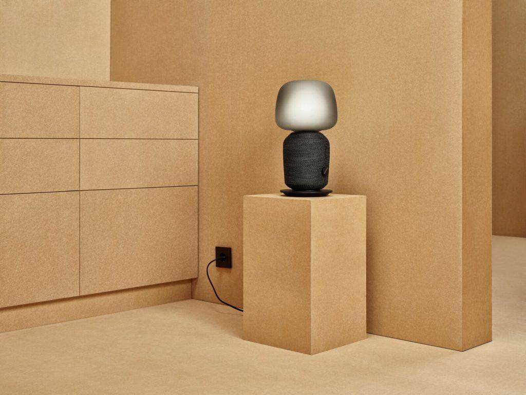 SYMFONISK bordlampe med wifi-højttaler (Foto: IKEA)