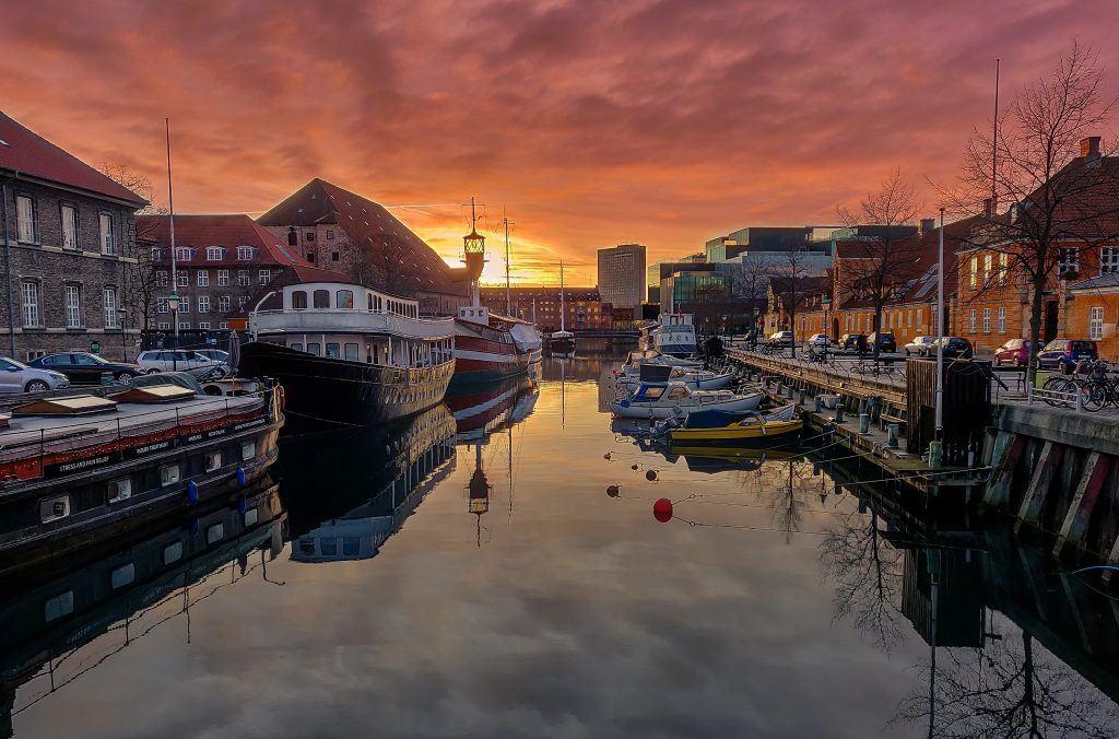 Flot morgen i København. Taget med min OnePlus 6 (Foto: Thomas Larsen)