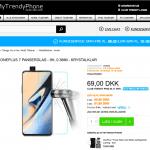 OnePlus 7 og beskyttelsesglas til denne til salg på MyTrendyPhone inden telefonen offentliggøres