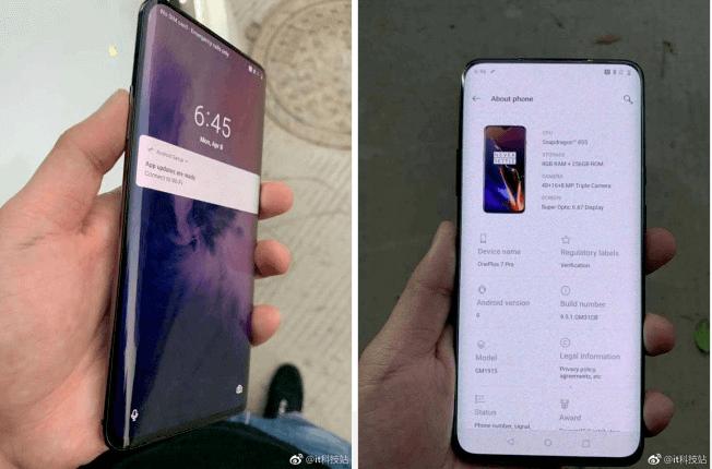 OnePlus 7 Pro dukket op – er det 5G-telefonen fra OnePlus