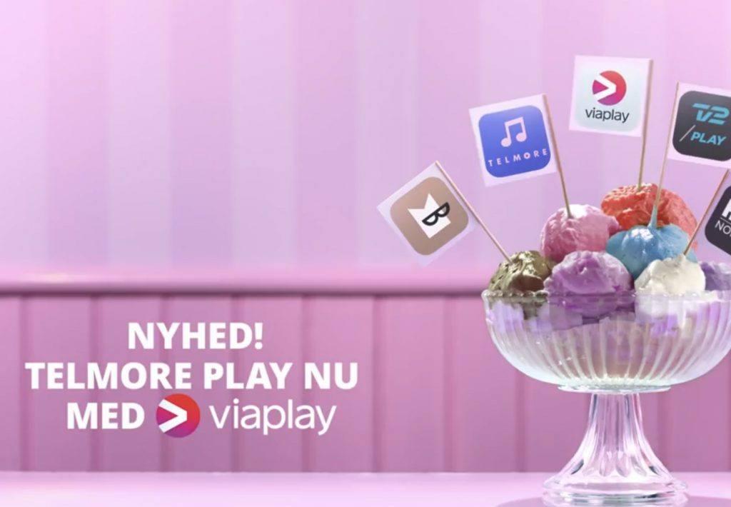 Telmore Play med Viaplay