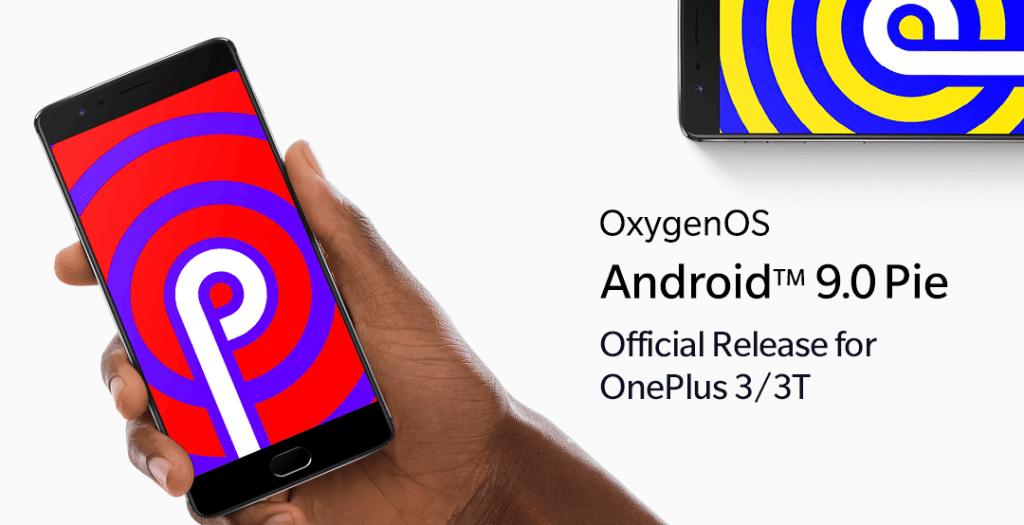OnePlus er klar med udrulningen af Android 9 Pie og OxygenOS 9.0.2 til OnePlus 3 og OnePlus 3T (Foto: OnePlus)