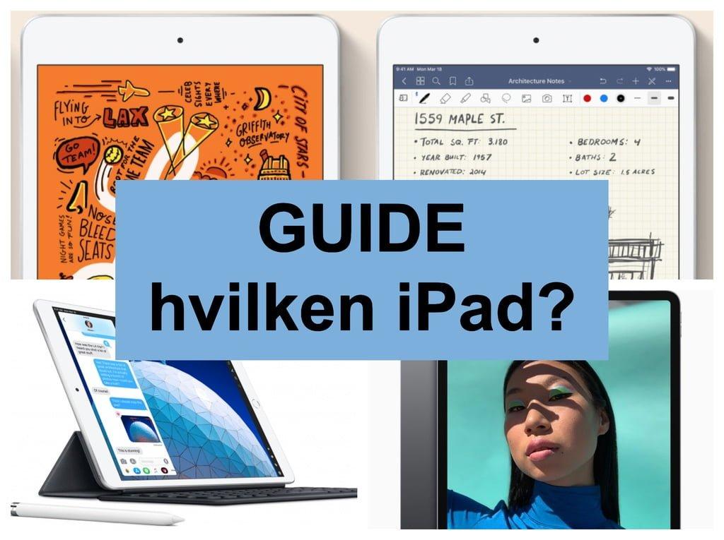 de868803 Hvilken iPad skal jeg vælge?