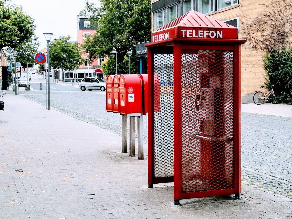 Telefonboks TDC