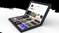 Er fremtiden foldbar? Lenovo har netop fremvist en ny foldbar koncept-PC, som de siger vil komme i produktion i 2020. Se billeder og video her.