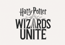 Screenshot fra den officielle hjemmeside til Harry Potter: Wizards Unite