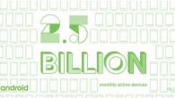Endnu en milepæl er nået. Google oplyste under Google I/O, at der nu er 2,5 milliarder aktive Android-enheder på verdensplan.