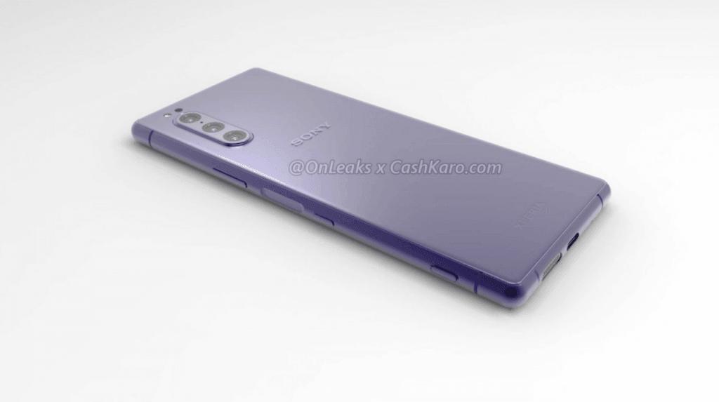 Sony Xperia 2 lækket af OnLeaks (Kilde: GSMArena.com)