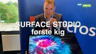 VIDEO: Surface Studio bringer kreativiteten frem i dig. Jeg har set nærmere på Microsofts kæmpe tegneplade, der også er en fed Windows 10-maskine.