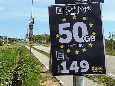 Duka EU-valg 2019 valgplakat