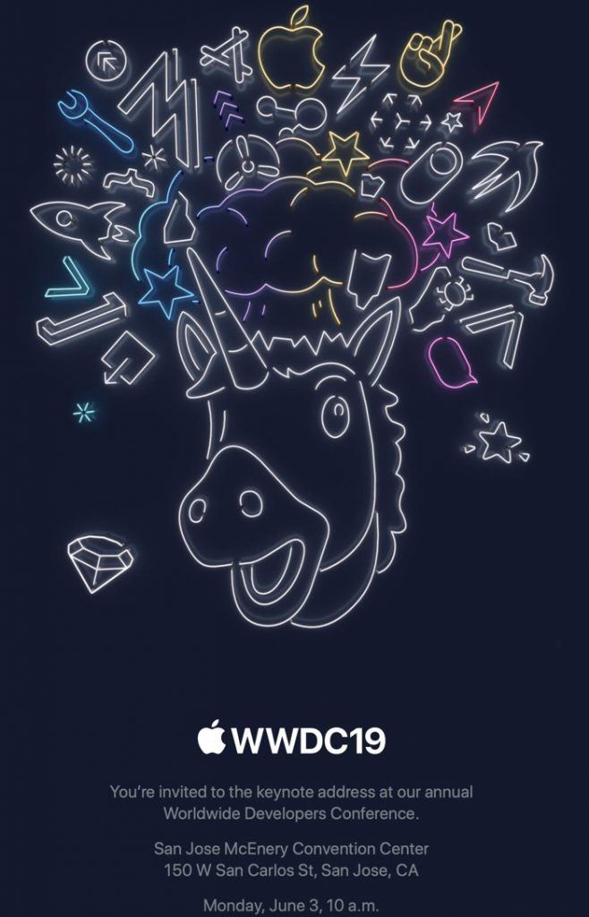 Apple har udsendt invitationerne til årets keynote på WWDC 2019 (Foto: Apple)
