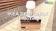 VIDEO: Symfonisk er landet til test. Nu skal Ikea og Sonos lampehøjttaler ud af kassen. Se med her.