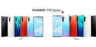 Huawei P30-serien (Foto: Huawei)